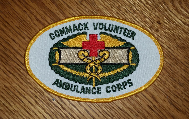 Commack Volunteer Ambulance Corps Patch