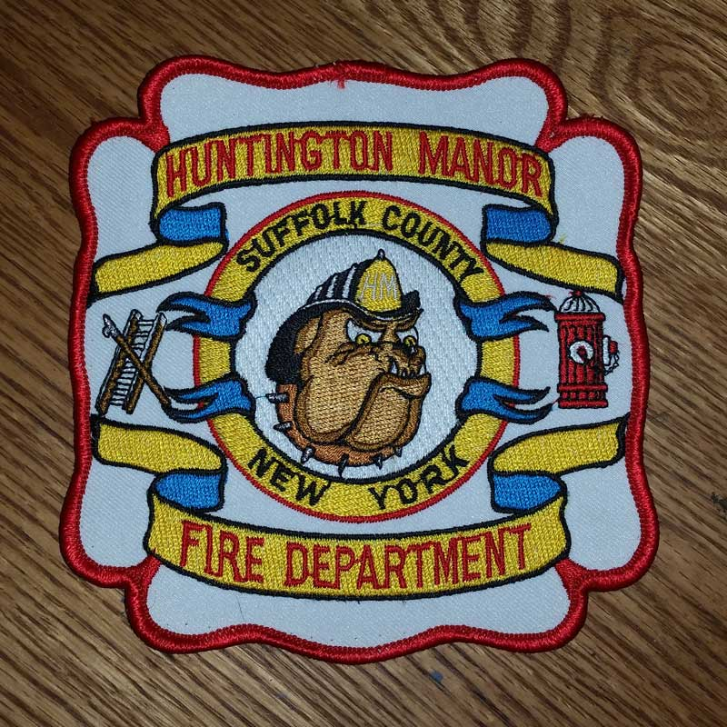 Huntington Manor Fire Department Patch