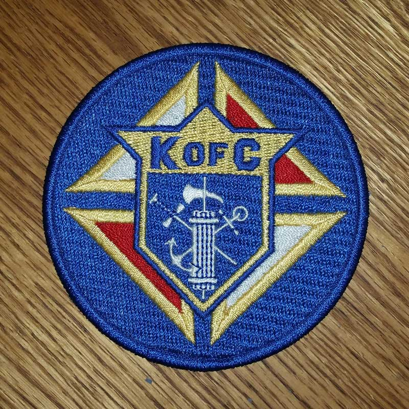 K of C Patch