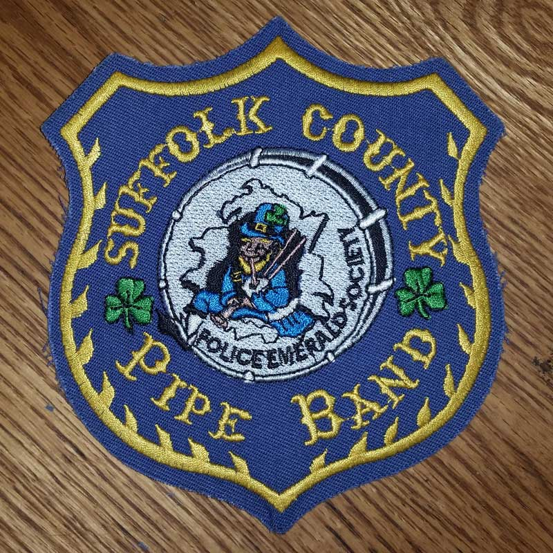 Suffolk County Pipe Band Patch