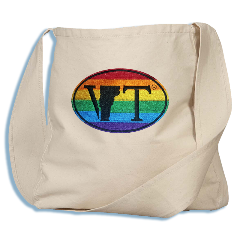 LGBT Vermont State Euro Farmers' Market Bag